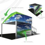 custom built tradeshow exhibits